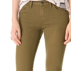 Madewell Skinny Skinny Ankle Jean Butterscotch